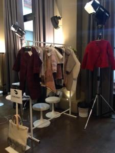 Cora Kindt at Fashion Week Paris 2016